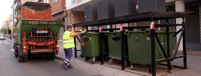 Buidatge contenidors soterrats